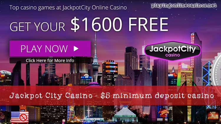 $5 minimum deposit online casinos
