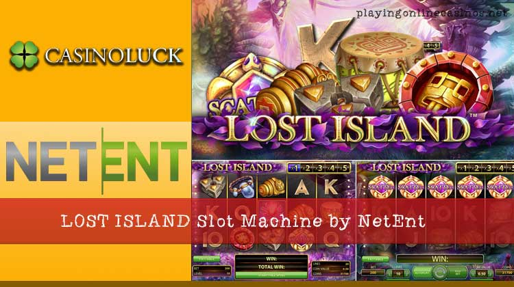 Lost Island™ Slot Machine Game to Play Free in NetEnts Online Casinos