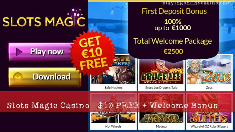 slot magic casino no deposit bonus codes