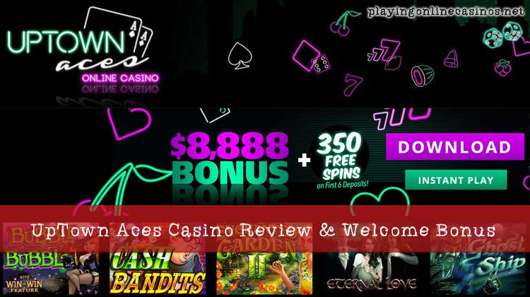 Uptown Aces Casino Review Welcome Bonus And Free Spins