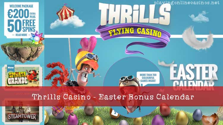 Thrills Casino | Play Book of Dead | Get Free Spins