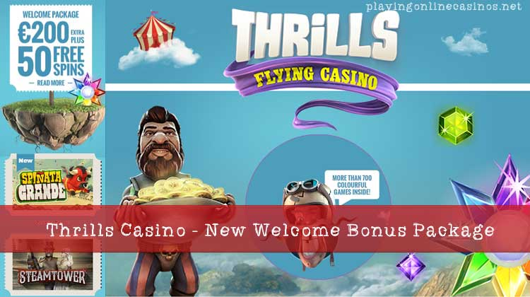 Thrills Casino | Play Divine Fortune | Get Free Spins