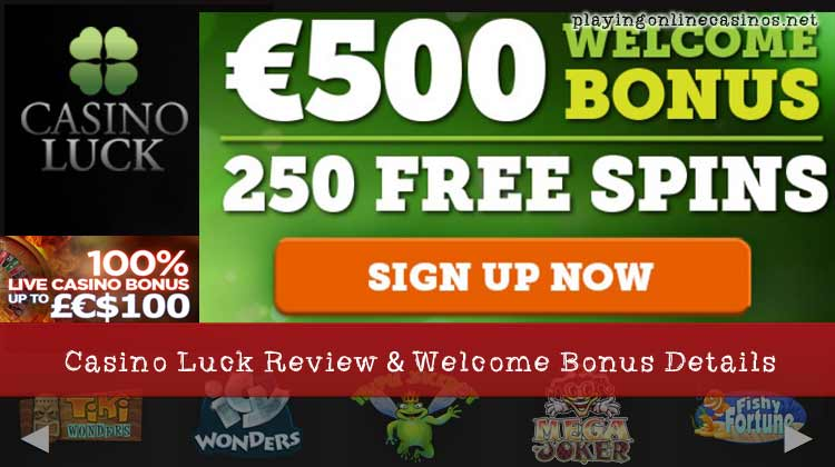 online casino welcome bonus lucky lady