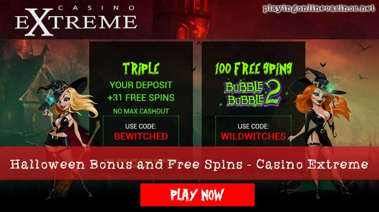 casino extreme welcome bonus codes
