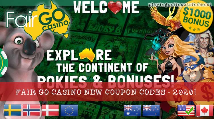 New Coupon Codes Offered By Fair Go Casino In 2020